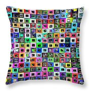 Squared Off Throw Pillow
