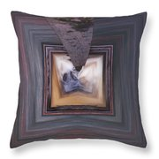 Squared Stream Throw Pillow