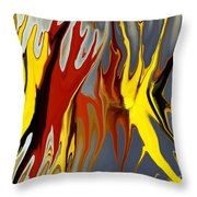 Squashed Bug Throw Pillow by Chris Butler
