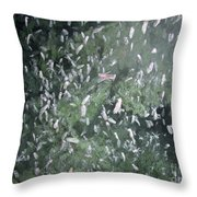 Squat Lobsters At Seamount X Throw Pillow