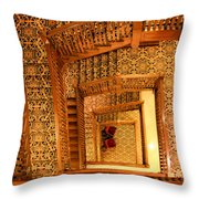 Squiral Throw Pillow