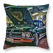 Ss In The Shop Hdr Throw Pillow