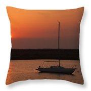 St. Augustine Sunrise Throw Pillow