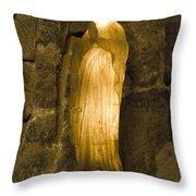 St Barbara - Wielczka Salt Mine Throw Pillow