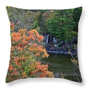 St Croix River Throw Pillow