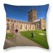 St Davids Cathedral 5 Throw Pillow