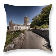 St Davids Cathedral Pembrokeshire 2 Throw Pillow