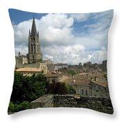 St Emilion Village Throw Pillow