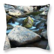 St Francis River At Dusk I Throw Pillow