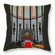 St. Francis Xavier Cathedral  Throw Pillow
