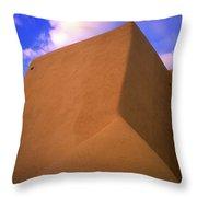 St Franscis De Assisi Throw Pillow