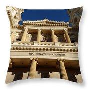 St. Ignatius Catholic Church Throw Pillow