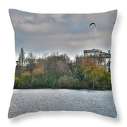 St. James Park In London Throw Pillow