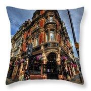 St James Tavern - London Throw Pillow