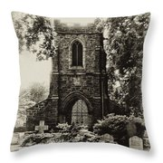 St James The Less - East Falls Philadelphia Throw Pillow