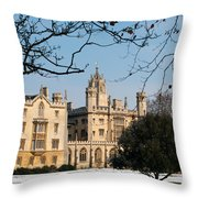 St Johns Throw Pillow