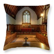 St John's Church Altar - Filey  Throw Pillow