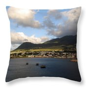 St. Kitts Throw Pillow