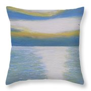 St Lawrence River Eagle Throw Pillow