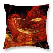St Louis Abstract Throw Pillow