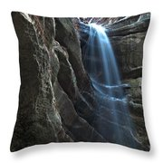 St Louis Falls Starved Rock Sp Throw Pillow
