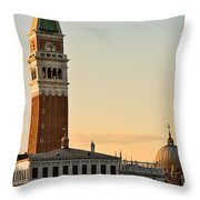 St Marks Sunset Throw Pillow