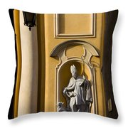 St Martin's Church Architectural Details Throw Pillow