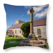 St Mary 1080 Throw Pillow