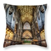St Mary Throw Pillow by Adrian Evans
