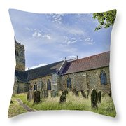 St Mary Lamberhurst Throw Pillow