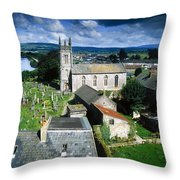 St Marys Cathedral, Co Limerick, Ireland Throw Pillow
