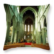 St. Marys Cathedral, Kilkenny City, Co Throw Pillow