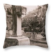 St. Marys Graveyard Throw Pillow