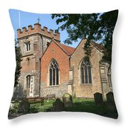 St Marys Harefield Throw Pillow