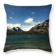St Marys Lake Throw Pillow