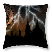 St Nikolas Church - Prague Throw Pillow