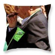 St Pattys Green Throw Pillow