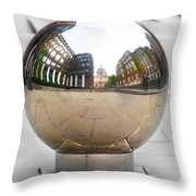 St Paul Cathedrals Reflection Throw Pillow