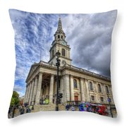 St Paul Church Throw Pillow