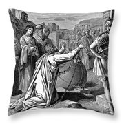 St. Paul In Chains Throw Pillow