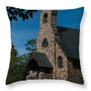 St. Peter's By-the-sea Protestant Episcopal Church Throw Pillow