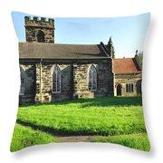 St Peter's Church - Hartshorne Throw Pillow