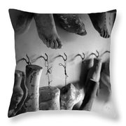 St Roch 1 Throw Pillow