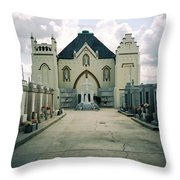 St Roch Campo Santo Throw Pillow