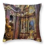 St Stanislaus - Posnan Poland Throw Pillow