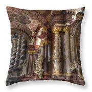 St Stanislaus Church -  Posnan Throw Pillow