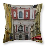 St Stanislaus Church Exterior Throw Pillow