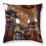 St Stanislaus Parish Church Throw Pillow