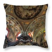 St Stanislaus The Bishop Church Throw Pillow