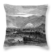St. Thomas: Earthquake Throw Pillow by Granger